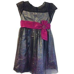 2/$30 Joan Michelle Purple & Sparkle Dress